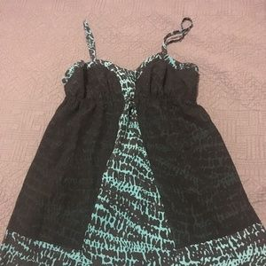 UO Black and Teal dress